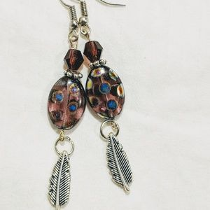 Jewelry - Purple Czech beads